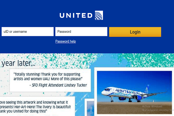 united intranet login