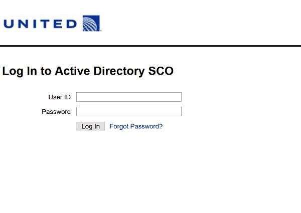 united intranet reset password